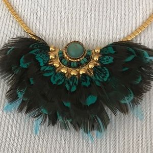 Calypso St. Barth Feather Necklace